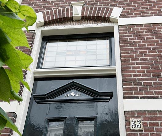 Schildersbedrijf Utrecht - F.C. Donderstraat 33 detail 2