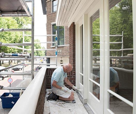 Schildersbedrijf Utrecht - Maliebaan 39a detail 6