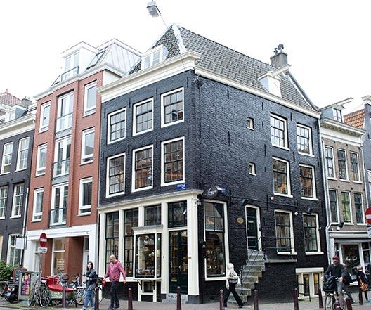 Schildersbedrijf Amsterdam - Kerkstraat detail 1