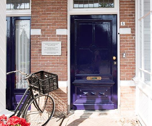 Schildersbedrijf Leerdam - Spoorstraat 5 detail 2