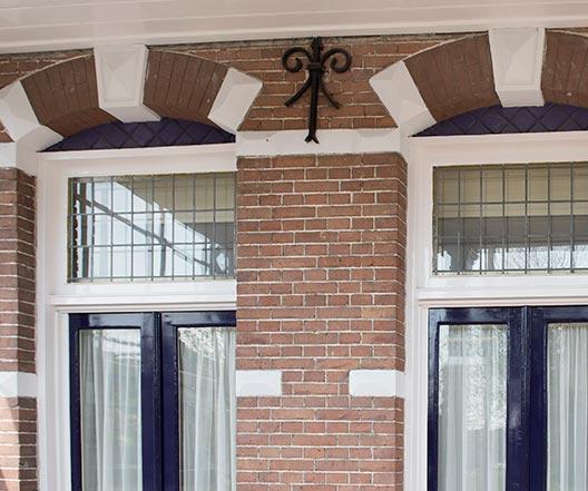 Schildersbedrijf Leerdam - Spoorstraat 5 detail 3