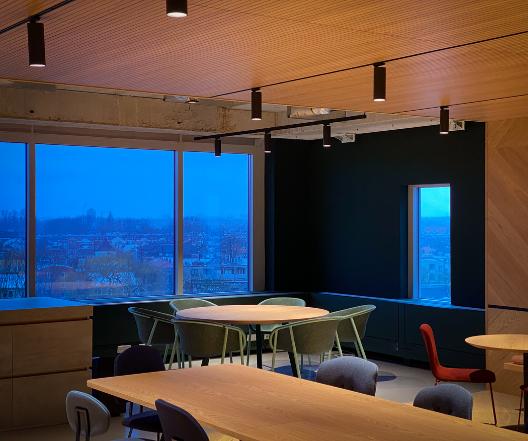 Binnenschilderwerk Utrecht - DSO kantoor