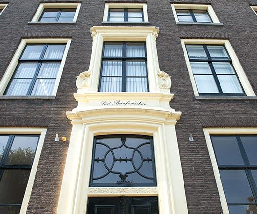 Schildersbedrijf Utrecht - Nieuwegracht 61 detail 6