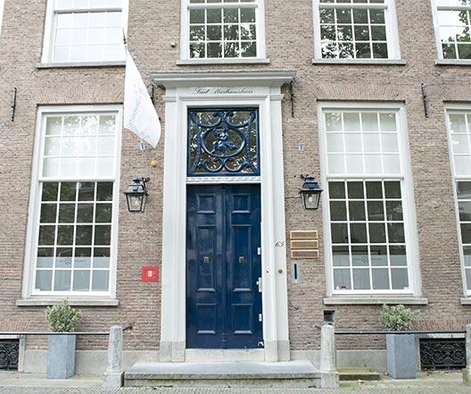 Schildersbedrijf Utrecht - Nieuwegracht 65 detail 2
