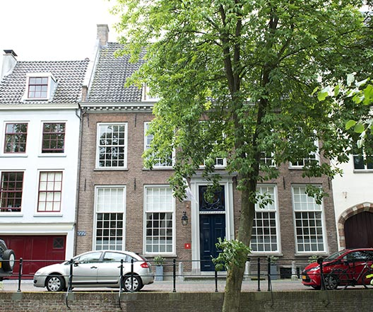 Monumentaal Schilderwerk - Nieuwegracht detail 1