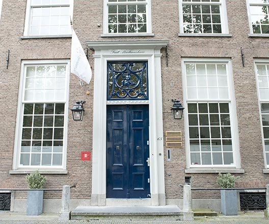 Monumentaal Schilderwerk - Nieuwegracht 65 detail 2